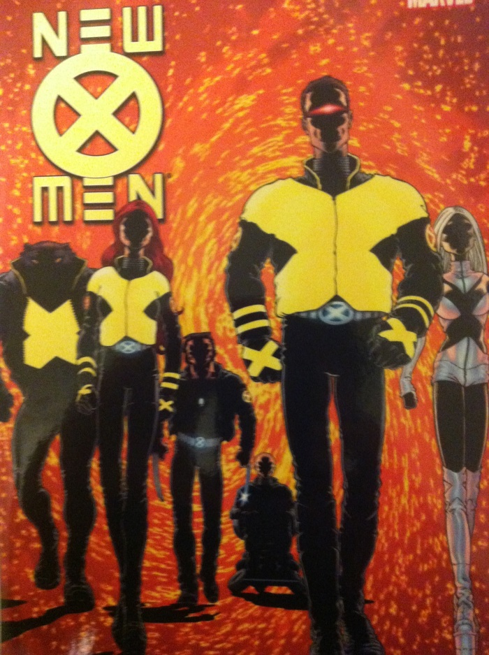 """""""Would you prefer yellow spandex?"""" LOL, Movie Cyclops! New X-Men by Grant Morrison, Frank Quitely,Etc"""