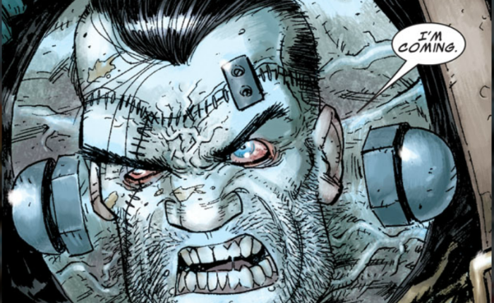 """""""So we fought them and some Draculas and Frankensteins too…"""" AKA Franken-Castle by Rick Remender and TonyMoore"""